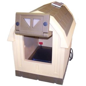 ASL Solutions Deluxe Dog Palace Large Doghouse - Includes Heater