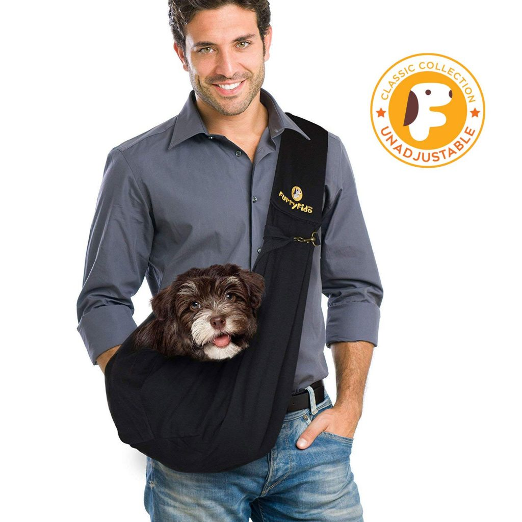 FurryFido Adjustable Pet Sling Carrier
