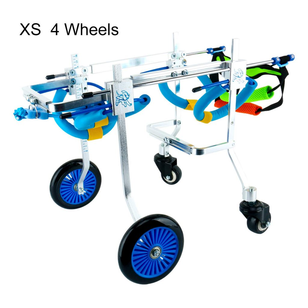 Homend Adjustable Dog Wheelchair, 5 Sizes for Hind Legs Rehabilitation