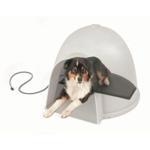 K H Pet Products Lectro-Kennel Igloo Style Outdoor