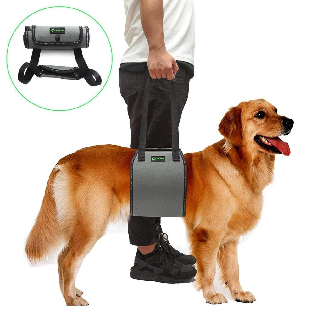 Lepark Dog Sling with Handle for Canine Aid