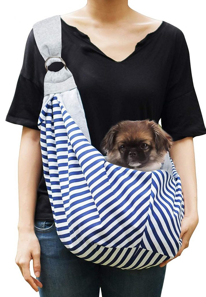 Timetuu Pet Sling Carrier for Small and Medium Dogs or Cats