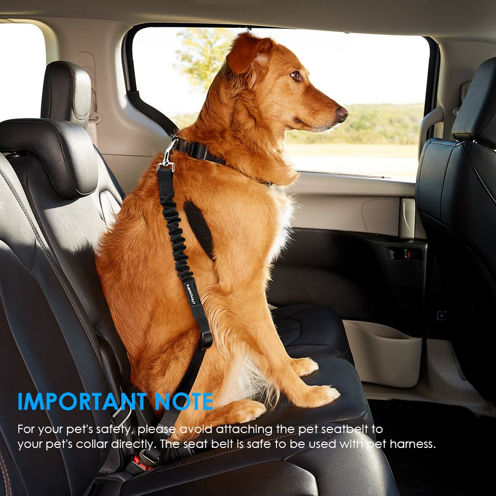URPOWER Upgraded Dog Seat Belt 2 Pack Dog Car Seatbelts