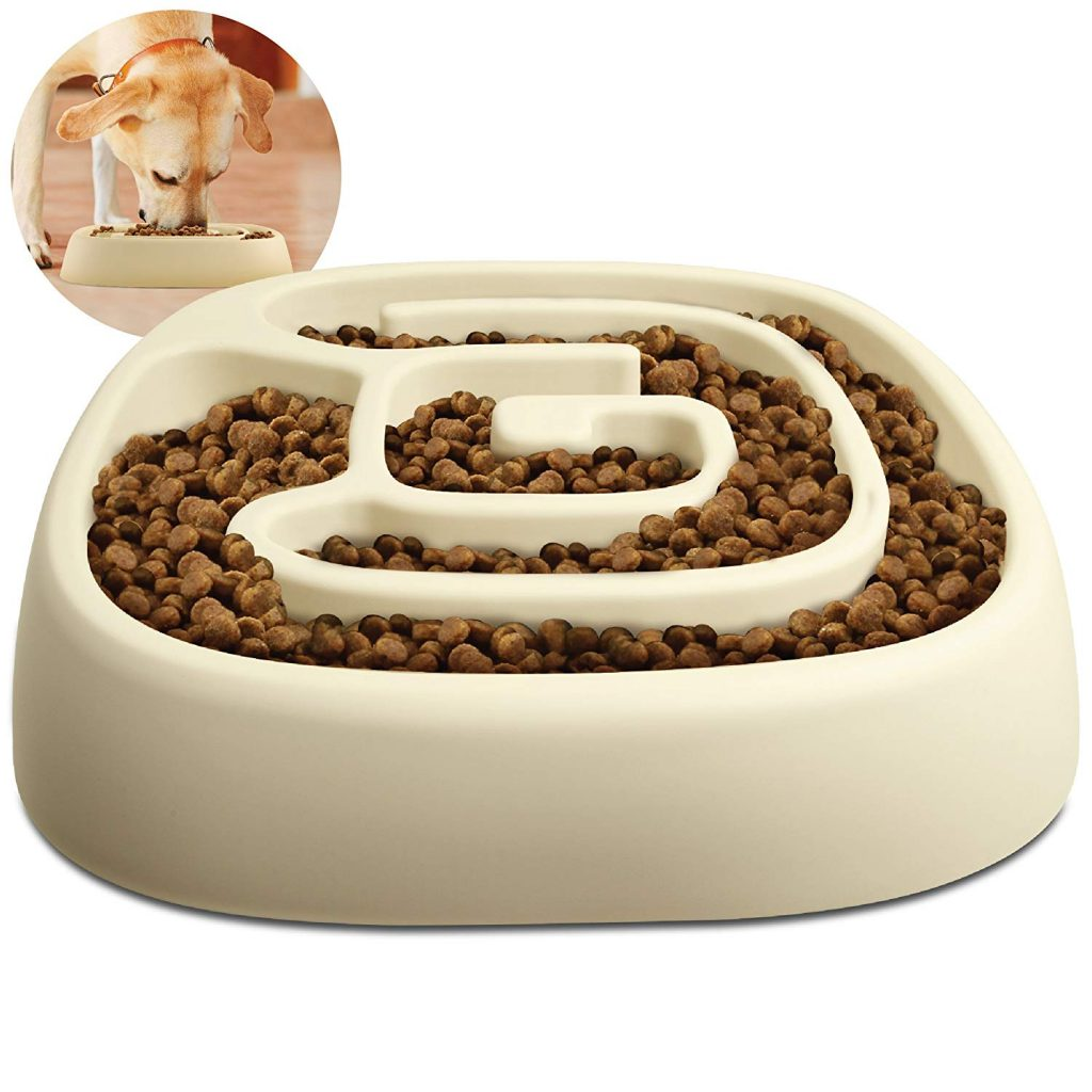 Animal Planet Dog Bowl - Slow Maze Feeder Pet Dog Bowl for Small & Medium Dogs