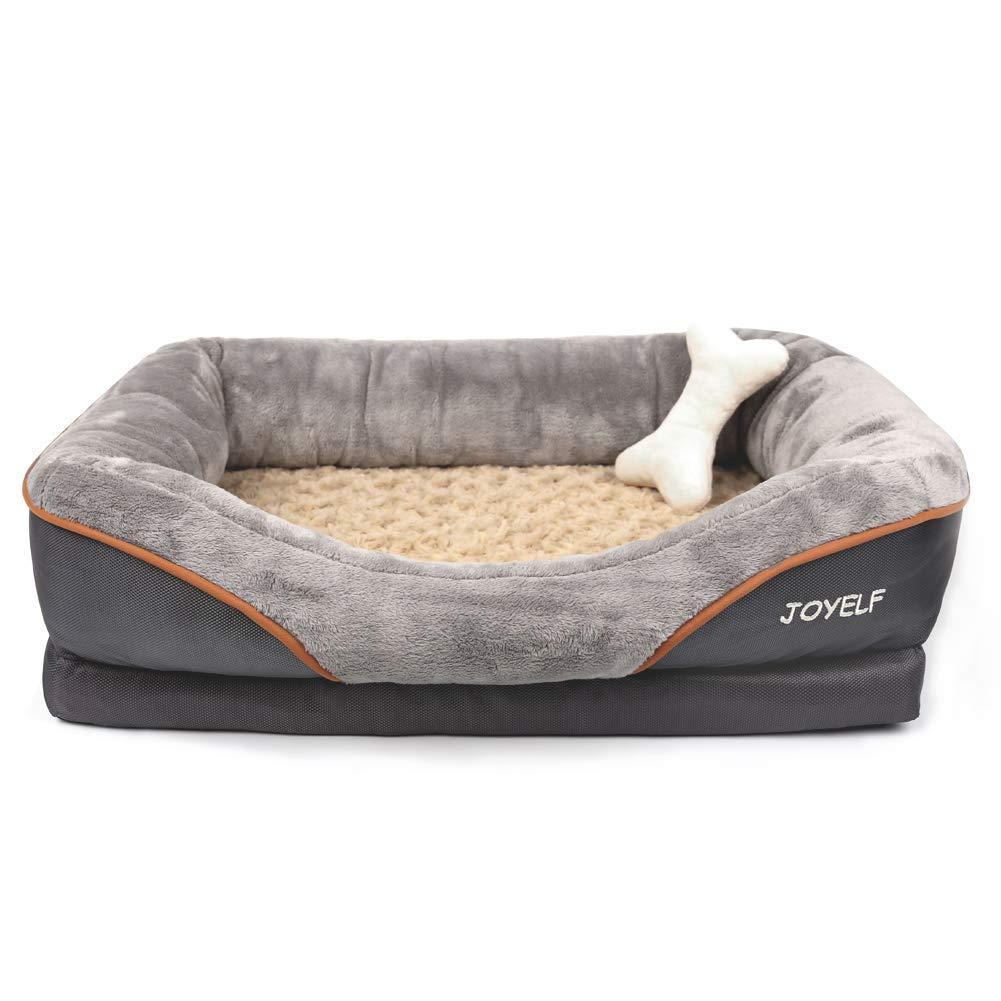 JOYELF Orthopedic Dog Bed Memory Foam