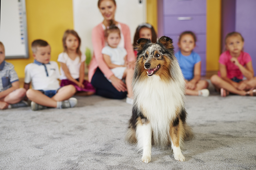 benefits of having a dog- kids-2
