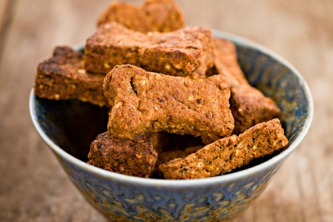 Homemade Whole Wheat Dog Treats