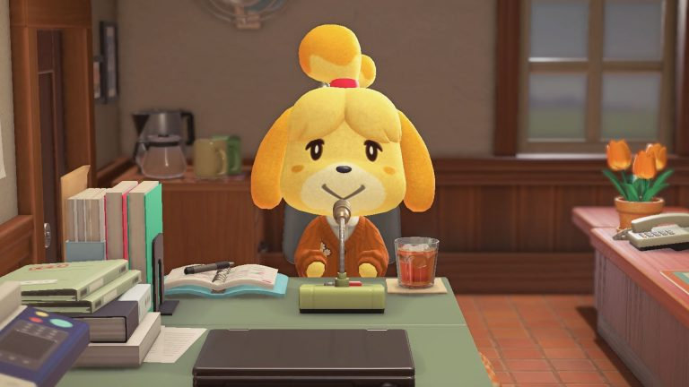 isabelle the Shih Tzu breed animal crossing
