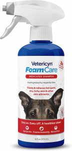 Vetericyn FoamCare Medicated Shampoo for Pets