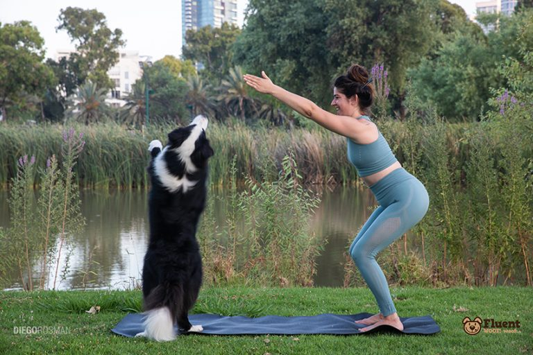 Doing Yoga with Dogs