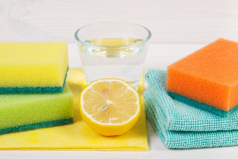 Lemon Juice and Water for Glass Surfaces and Windows