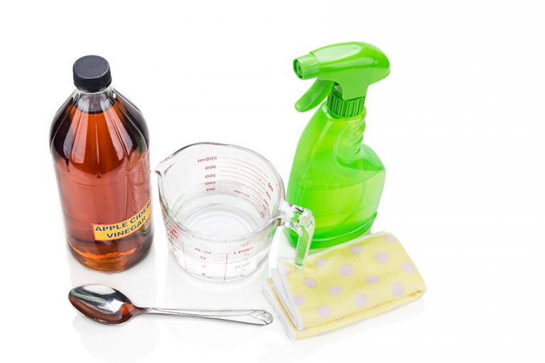 Vinegar and Water for General Cleaning