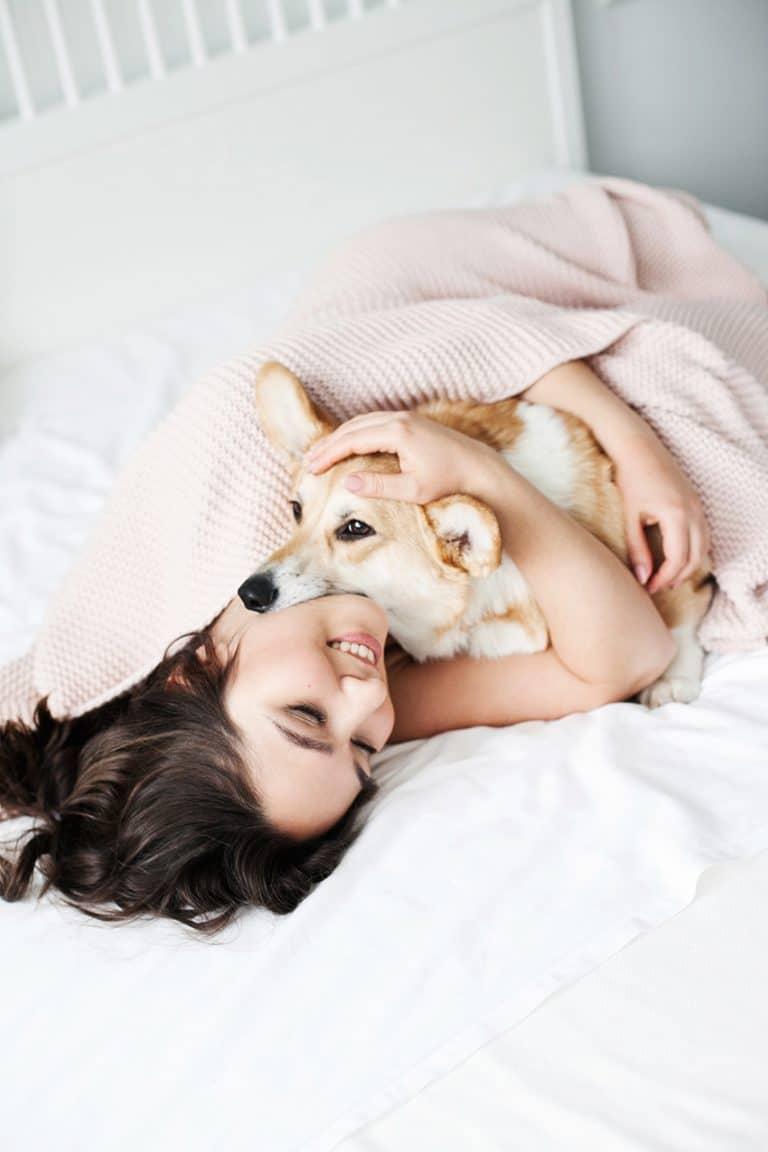 women sleep better with fido
