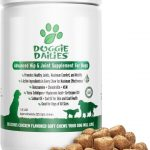 Doggie Dailies Advanced Hip & Joint with Glucosamine, Chondroitin & MSM Soft Chew Dog Supplement, 225 count