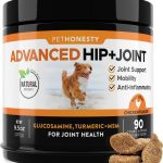 PetHonesty Advanced Hip + Joint Support Soft Chews with MSM Dog Supplement