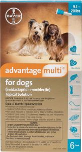 advantage multi for dogs review