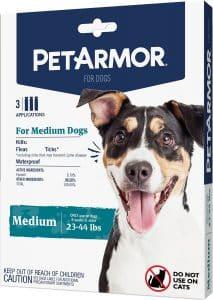 PetArmor Flea & Tick Squeeze-On Treatment for Dogs