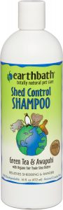 Earthbath Shed Control Green Tea & Awapuhi Dog & Cat Shampoo
